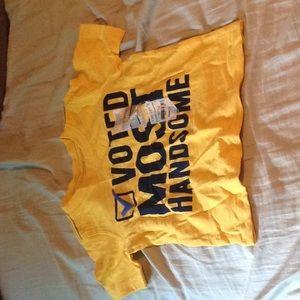 NWT boys 18 months voting shirt